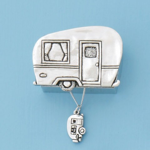 Camper Wish Box w/Camper Necklace