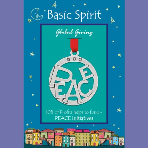 PEACE Global Giving Ornament