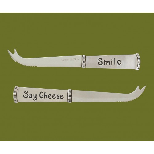 say cheese smile cheese knife