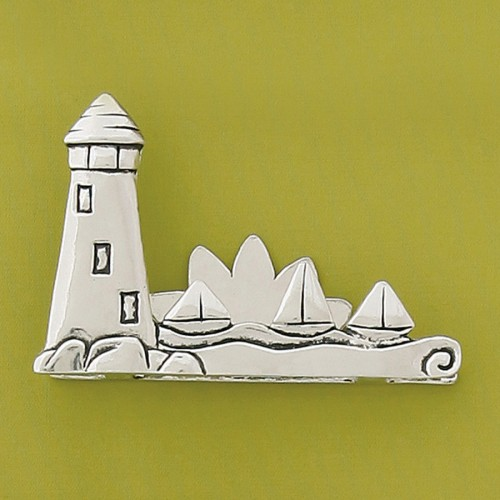 Lighthouse business cardphoto holder colourmoves